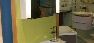 Hier der kleinste Vertreter der Serie VERO von Duravit - das Handwaschbecken mit Unterbau!