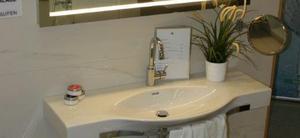 Der große Palace von Laufen - bis zu 180 cm Breite erhältlich - ist ein Hingucker in jedem neuen Bad!